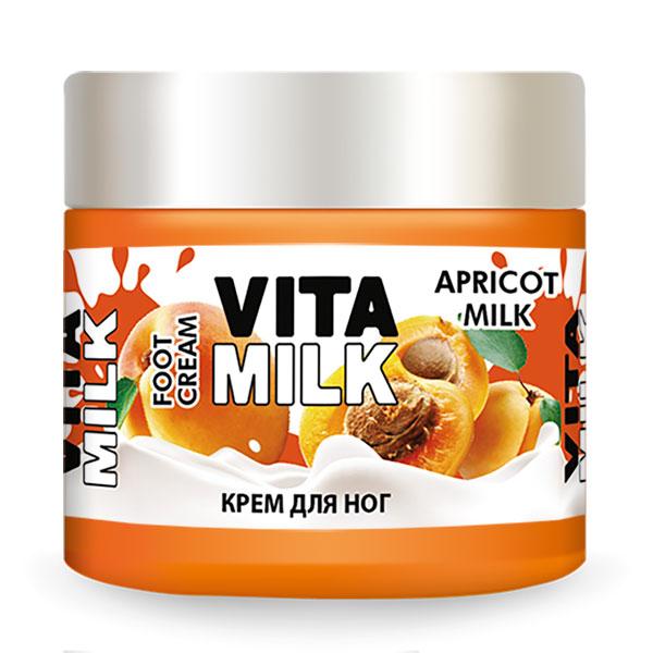 Крем для ног VITAMILK Абрикос и молоко 150 мл