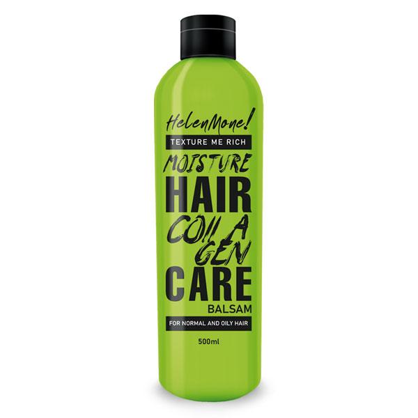 Бальзам для волос Helen Mone Супер восстановление, Коллаген + кератин, 500 мл