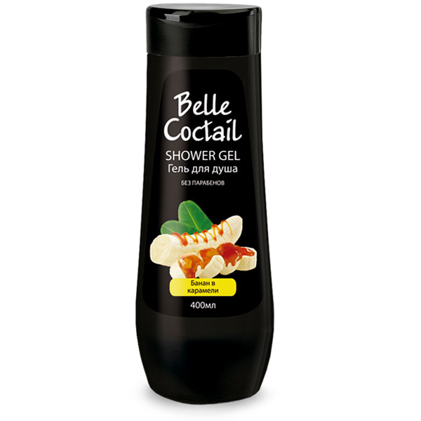 Гель для душа Belle Coctail Банан в карамели 400 мл