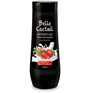Гель для душа Belle Coctail Клубника в молочном йогурте 400 мл