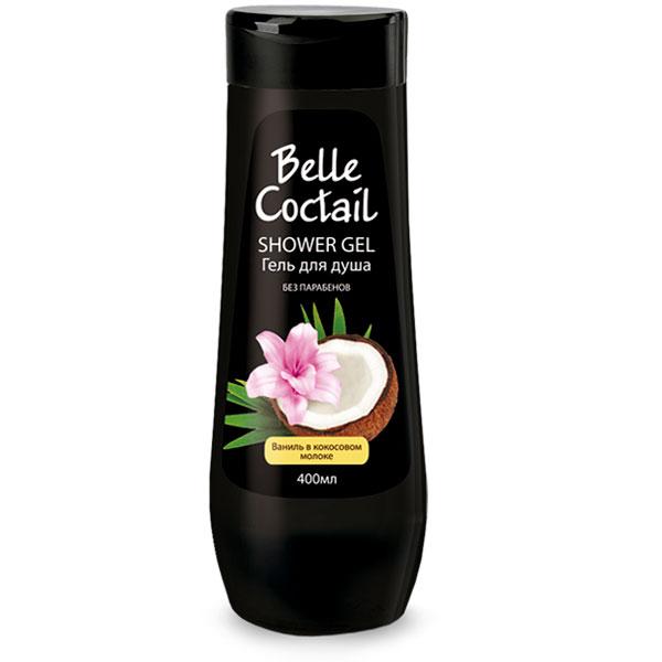 Гель для душа Belle Coctail Сливочная ваниль 400 мл