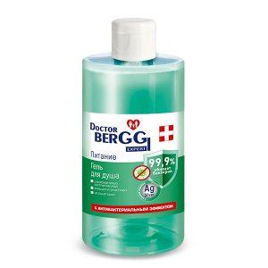 Гель для душа DoctorBerggi с антибактериальным эффектом Питание 460 мл