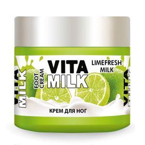 Крем для ног VitaMilk Лайм и молоко 150 мл