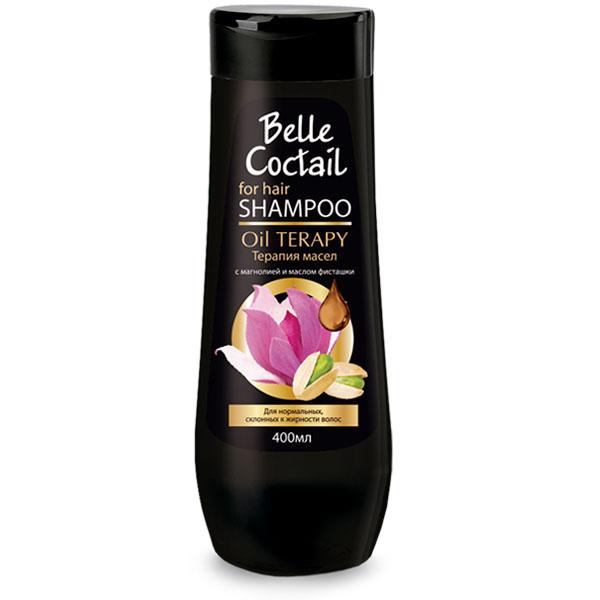 Шампунь для волос Belle Coctail Терапия масел для нормальных, склонных к жирности волос 400 мл