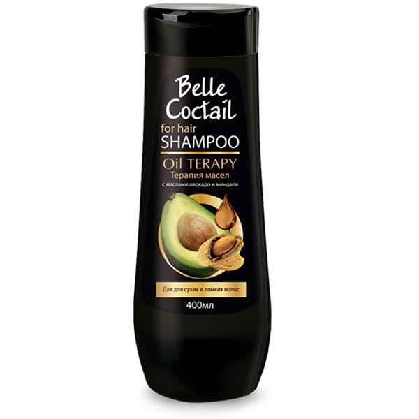 Шампунь для волос Belle Coctail Терапия масел для сухих и ломких волос 400 мл