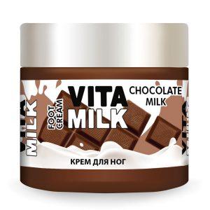 Крем для ног VitaMilk Шоколад и молоко 150 мл